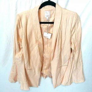 Lauren Conrad Women's Sz 4 Pink Blush Open Blazer